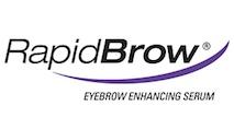 RapidBrow Logo at Lady Grace Nail and Skin Centre