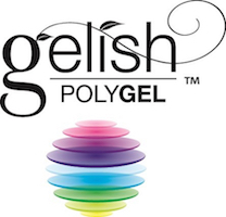 Gelish Polygel logo for Lady Grace Nail and Skin Centre